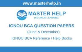 IGNOU BCA Question Papers