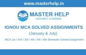Ignou MCA Solved Assignments
