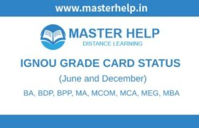 IGNOU Grade Card Status